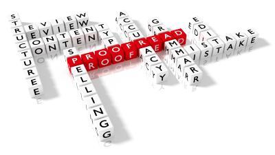 Proofreader Crossword Puzzle